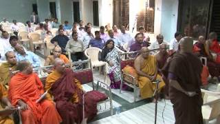 World Peace Buddhist Council, Mumbai 29-Aug-2014, Bhante Rahul Bodhi