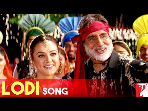 Lodi Song | Veer-Zaara | Shah Rukh Khan | Preity Zinta | Amitabh Bachchan | Hema Malini