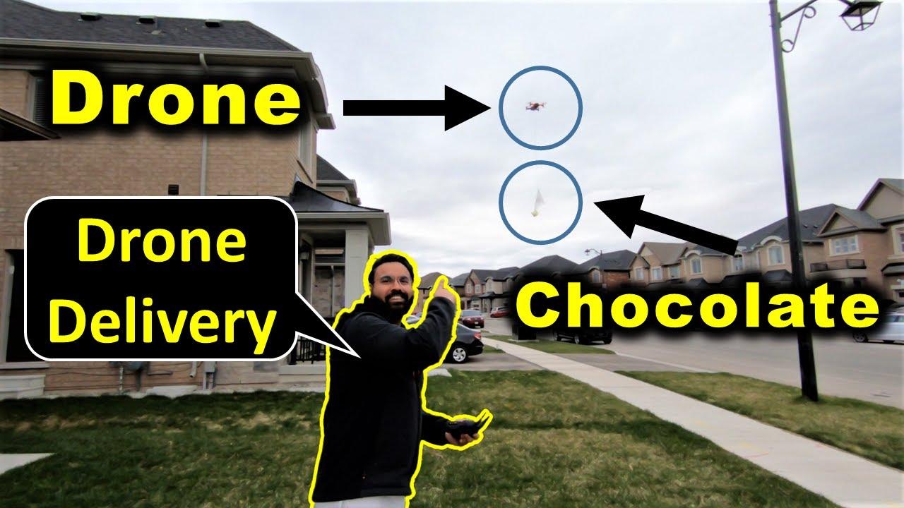 Drone Se Ki Salt Ki Delivery 😲 | Canada Couple Vlogs