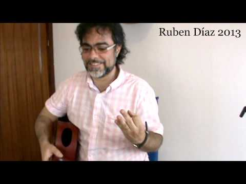 Fitness in Flamenco 5 (Rhythm)  Ruben Diaz CFG Malaga / Andalusian Flamenco Guitar Lesson