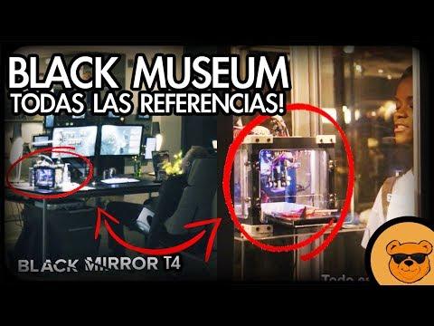 Download Youtube: BLACK MIRROR T4 | TODAS LAS REFERENCIAS EN BLACK MUSEUM! (RESEÑA CON SPOILERS) | Ft. Urbvic