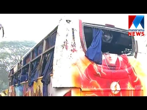 Tourist bus Accident in Kozhikode; 38 injured | Manorama News