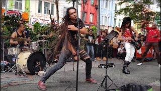 orang timur-enang Azman feat Sentuhan buskers cover SYJ ,mantap power
