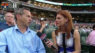BAL@HOU: Idelson on Biggio's induction to HOF