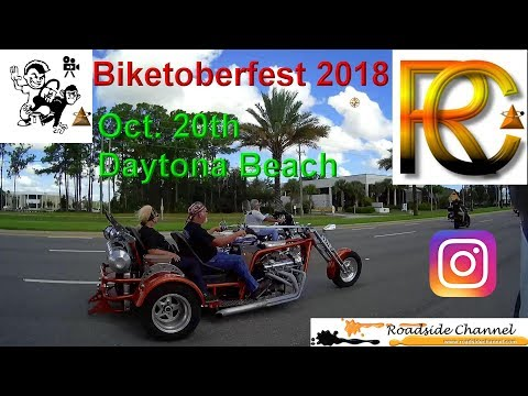 Biketoberfest 2018 Daytona Beach, FL  Oct.20.18 No Music.  Lake to Volusia County, FL