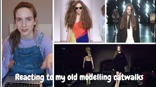 Reacting to my old modelling work