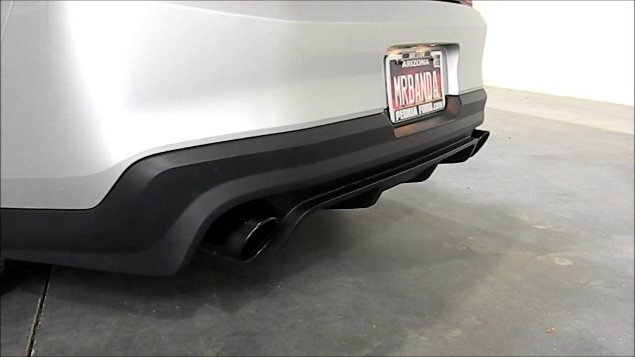 2010 2013 mustang gt gt500 roush axle back exhaust system black tips 421127 b