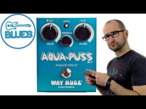 Aqua-Puss Analog Delay MkII Pedal - Way Huge Electronics