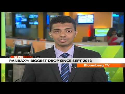 Newsroom- Ranbaxy: Biggest Drop Since Sept 2013