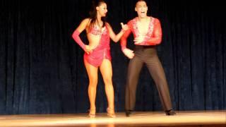 Junior and Emily Amicitia Dance Co 2011  Philadelphia Salsa Festival