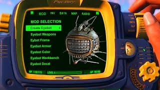 Fallout 4 Console Mods EYEBOT Companions & How it Works (Fallout 4 Xbox One, PC & PS4 Console Mods)