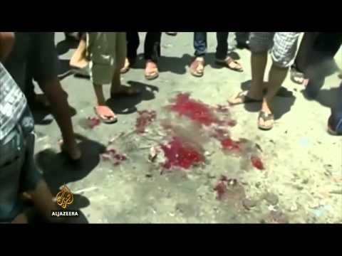 Gaza Neighbourhood Devastated By Israeli Bombing
