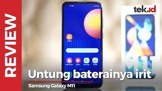 Review Samsung Galaxy M11, HP seri entry level Samsung dengan batre gede