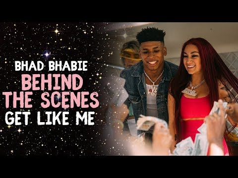 "BHAD BHABIE ft. NLE Choppa ""Get Like Me"" Behind the Scenes 