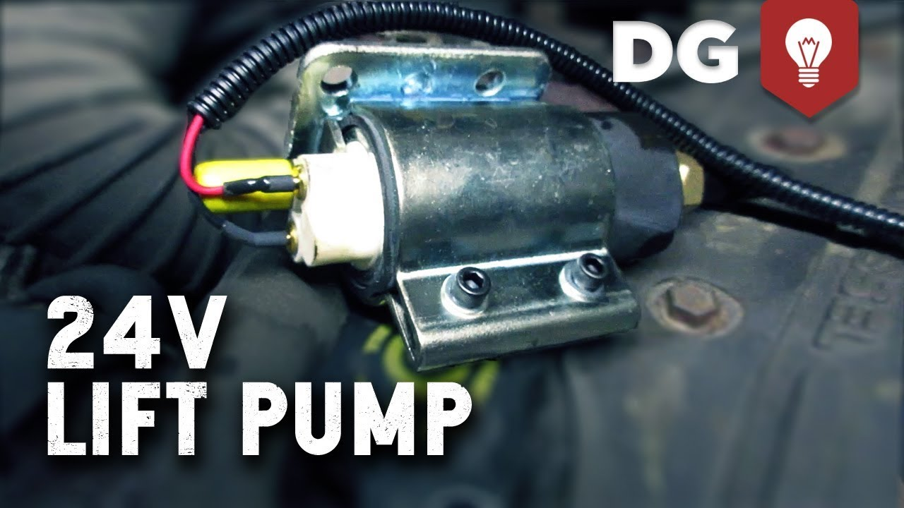 hight resolution of how to upgrade a cummins 24v lift pump