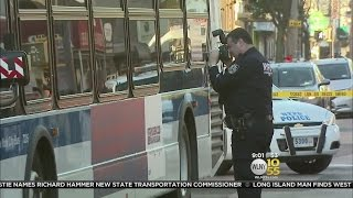 Brooklyn Bus Shot Up