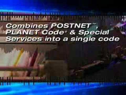 USPS Intelligent Mail Barcode