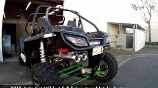 Ron Wood Racing 2012 Artic Cat Wildcat Exhaust and Intake