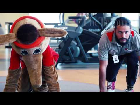 Aims Community College mascot masters Olympic skills in hilarious new video