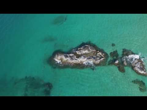 Carenero and Red Frog Beach Drone Bocas del Toro