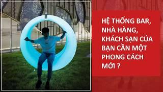Công ty sự kiện Rồng Việt _ Giới thiệu hệ thống bàn ghế Lumi, bình hoa Lumi, đèn Lumi