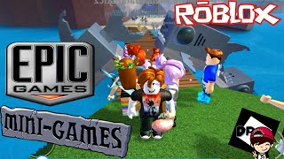 ROBLOX-PLAYING VARIOUS MINI-GAMES WITH SUBSCRIBERS (Epic MiniGames)