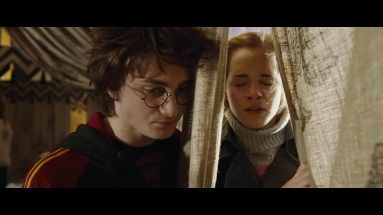 Гарри Поттер и Кубок огня. Гарри и Гермиону застукали ...