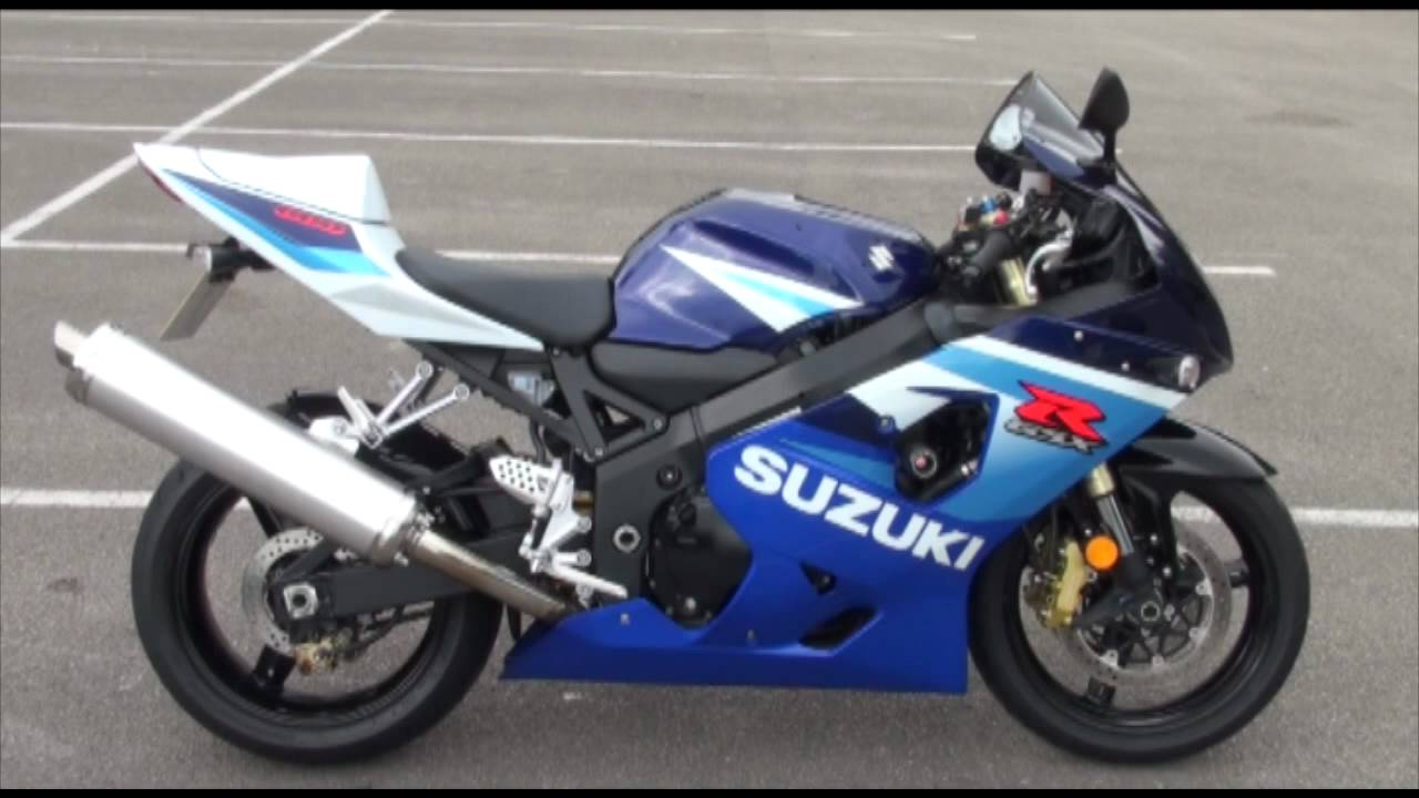 Suzuki GSXR600 k5 Stock No:56852 - YouTube