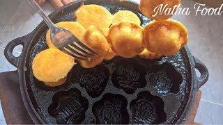 Bánh bông lan truyền thống || Natha Food