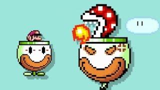 Super Mario Maker - 100 Mario Challenge #117 (Expert Difficulty)