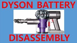 다이슨 청소기 배터리 분해(dyson v6 hepa) dyson cordless vacuums battery disassembly