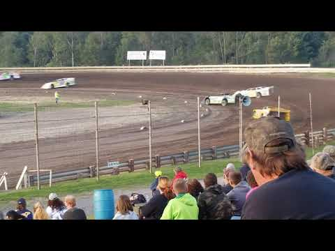Wendell Pinckney August 24, 2019 Hummingbird Speedway Super Late Model Heat 1