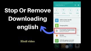 How To Cancel Google Downloading English Waiting For WiFi