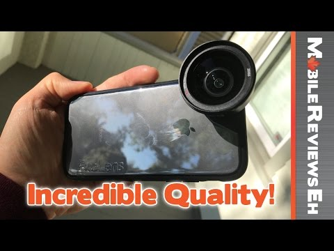 The image quality is STUNNING – ExoLens Pro iPhone 7 Review