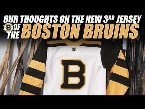 sports shoes 9ce64 5d417 Our Thoughts on the New Boston Bruins 3rd Jersey! - YouTube