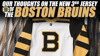 Our Thoughts on the New Boston Bruins 3rd Jersey!