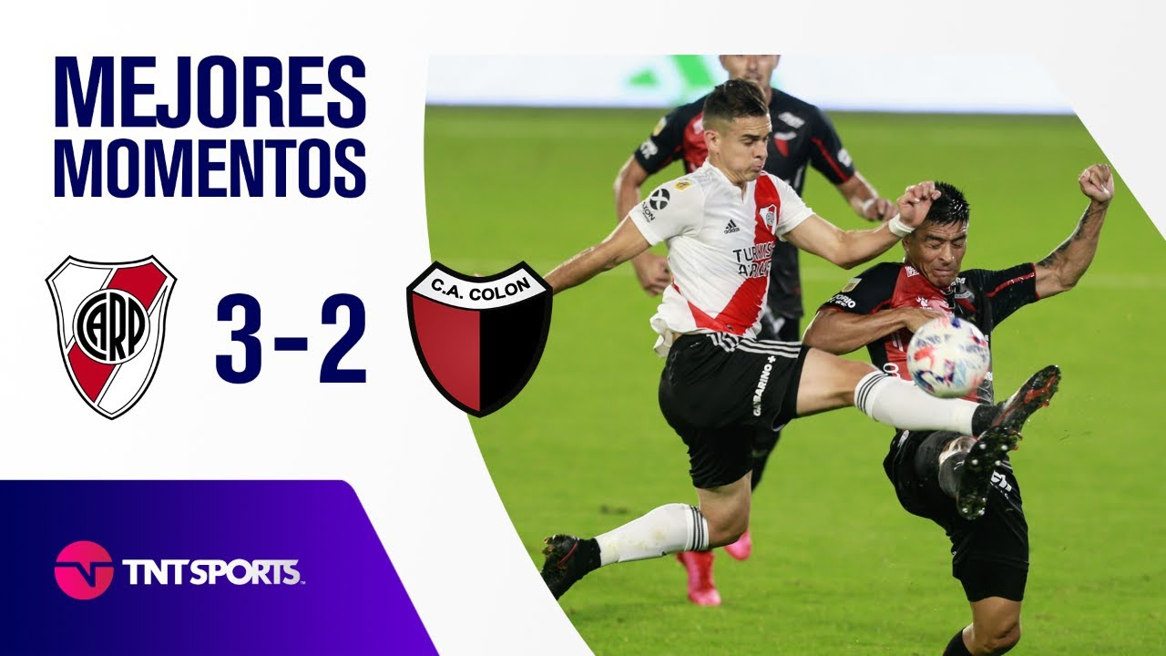 ¡TRIUNFO CLAVE DE RIVER! River Plate vs Colón SF (3-2) | Zona A - F 9 - Copa LPF 2021