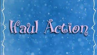 Haul Action {novembre 2018}