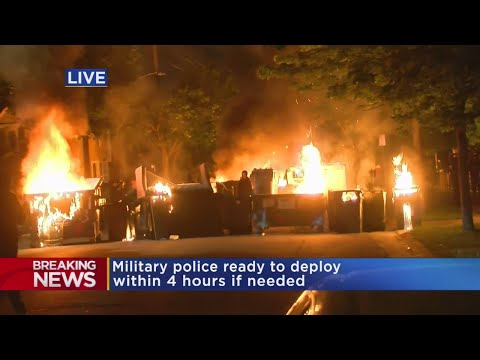 Video Shows Rioters