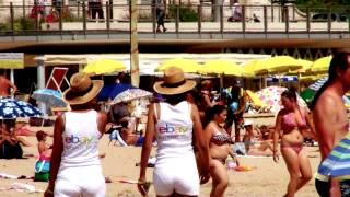 Spot promotion Ebay tournée des plages 2014