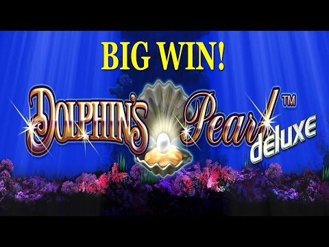 BIG WIN on Dolphins Pearl Deluxe Slot - £2 Bet
