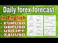 ( 18 june ) daily forex forecast EURUSD / GBPUSD / USDJPY / GOLD  forex trading  English