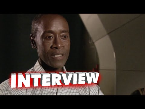 "Marvel's Avengers: Age of Ultron: Don Cheadle ""Colonel James Rhodes / War Machine"" Interview"