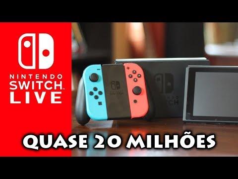 Nintendo Switch Vende Quase 20 Milhões E Mais Dados De Vendas Até Junho De 2018 [LIVE]