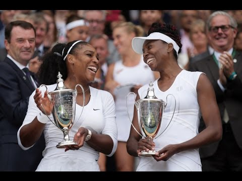 Serena/Venus VS Bados/Shvedova Highlight 2016 F