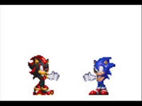 Sonic y Shadow fusion! - YouTube