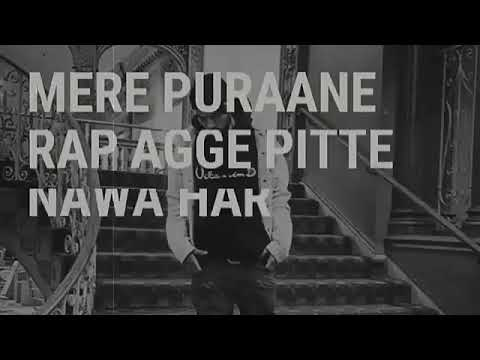 Puraana wala ft Bohemia (lyrics video)