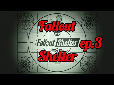 Fallout Shelter Ep.3 (fully Merged Rooms)