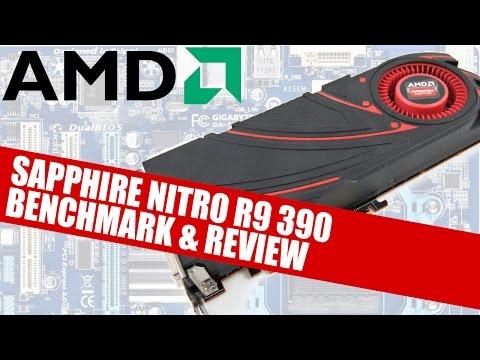 AMD Sapphire Nitro Radeon R9 390 8GB GPU Review & Benchmark | Tech