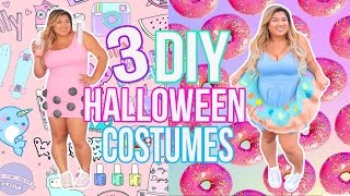 diy halloween costumes for teens donut boba sushi